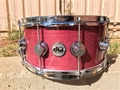 "DW Collectors Exotic Purple Heart   6 1/2x14""   Snare Drum"