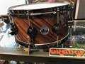 "DW Collectors Exotic Twisted Santos w/ Black Nickel 6 1/2 x14"" Snare Drum"