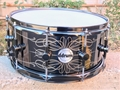 ddrum   THE TATTOOED LADY 6.5X14 Steel Snare Drum