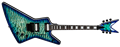 Dean Z Select Floyd Quilt Top Ocean Burst 6-String Electric Guitar 2019