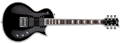 LTD DELUXE SERIES EC1000ET EVERTUNE Black 6-String Electric Guitar