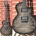 ESP Custom Shop Eclipse See Thru Black Sunburst  6-String Electric Guitar 2017