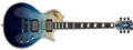 ESP E-II  Eclipse Blue Natural Fade  6-String Electric Guitar 2019