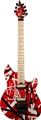 EVH   Super Limited Edition EVH® Wolfgang® Special, Red with Black and white Stripes  2014 6-String Electric Guitar
