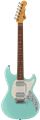 G&L USA Fullerton Deluxe Skyhawk HH Surf Green 6-String Electric Guitar 2019
