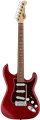 G&L USA Fullerton Deluxe S-500 Candy Apple Red  6-String Electric Guitar