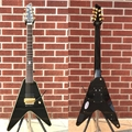 Schecter DIAMOND SERIES PROTOTYPE Chris Howorth V-7FR Metallic Black 7-String Electric Guitar