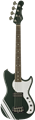 G&L USA  Fallout Bass 30 inch Short Scale British Racing Green 4-String Electric Bass Guitar 2019