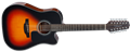 Takamine GD30CE-12 Brown Sunburst  12-String Acoustic Electric Guitar