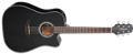Takamine GD30CE Black 6-String Acoustic Electric Guitar