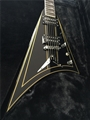 GJ2 Inspiration Series Concorde Hardtail  Black w/Gold Pinstripes   6-String Electric Guitar