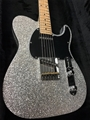 G&L USA ASAT Classic Silver Metal Flake 6-String Electric Guitar 2017