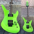 USED Schecter USA CUSTOM SHOP Production Series Gen-1 Prototype Avenger FR  Green        6-String Electric Guitar