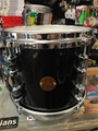 "Gretsch New Classic 8x10"""" Black Sparkle Lacquer Tom"