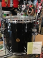 "Gretsch New Classic 14x14"""" Floor Tom w/legs  Black Sparkle Lacquer Tom"
