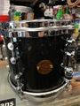"Gretsch New Classic 7x8"" Black Sparkle Lacquer Tom"