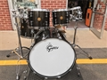 USED Gretsch  New Classic Maple Black Sparkle Lacquer 24 inch Bass Drum 5-piece shell pack