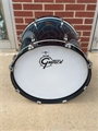 "USED Gretsch Renown Maple Ocean Blue Sparkle Fade Lacquer  16x20"" Bass Drum"