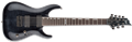 LTD DELUXE SERIES H-1007FM See Thru Black   7-String Electric Guitar