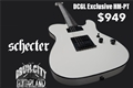 Schecter DIAMOND SERIES DCGL EXCLUSIVE  HM PT  Vintage White  6-String Electric Guitar  2020