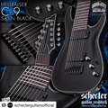 Schecter DIAMOND SERIES DCGL EXCLUSIVE  Hellraiser C-9  Satin  Black 9-String Electric Guitar