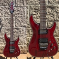 Schecter DIAMOND SERIES PROTOTYPE HELLRAISER C-1 FR/S Black Cherry 6-String Electric Guitar