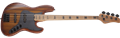 Schecter    DIAMOND SERIES J-4 Exotic Faded Vintage Sunburst  4-String Electric Bass Guitar 2020