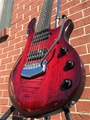 Ernie Ball/Music Man John Petrucci Monarchy Majesty Royal Red 7-String Electric Guitar