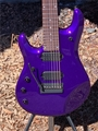 Ernie Ball/Music Man John Petrucci-7 Firemist Purple Piezo, Inlay/Matching Head Left Handed 7-String Electric Guitar 2019
