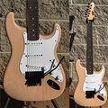 "ESP Custom Shop KH ST Natural ""One Video""   6-String Electric Guitar"