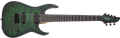Schecter    DIAMOND SERIES  KM-7 MK-III Standard  Toxic Smoke Green 7-String Electric Guitar 2019