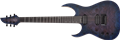 Schecter DIAMOND SERIES KM-6 MK-III Artist Blue Crimson Left Handed 6-String Electric Guitar