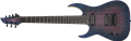 Schecter    DIAMOND SERIES KM-7 MK-III Artist Blue Crimson    Left Handed 7-String Electric Guitar 2019