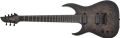 Schecter    DIAMOND SERIES KM-7 MK-III Artist Trans Black Burst    Left Handed 7-String Electric Guitar 2019