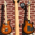 Ernie Ball/Music Man Axis Super Sport HH Trem PDN Vint Tobacco Burst  Left Handed 6-String Electric Guitar