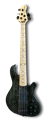 LAKLAND Skyline S55-OS Trans Black 5-String Electric Bass Guitar 2020