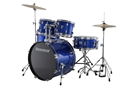 Ludwig Accent Fuse Outfit #LC170 - Blue - Complete Drum Kit