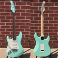 G&L USA Legacy Surf Green/Rosewood  Left Handed 6-String Electric Guitar 2018