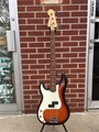 USED Fender American Standard P-Bass Sunburst  Left Handed 4-String Electric Bass Guitar