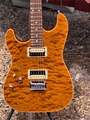 Schecter USA CUSTOM SHOP MASTERWORKS  Exotic Top NAMM SHOW  Left Handed  6-String Electric Guitar