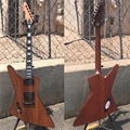 Schecter DIAMOND SERIES  E-1 Koa  Natural Satin  Left Handed 6-String Electric Guitar 2018