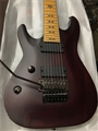Schecter DIAMOND SERIES  Jeff Loomis FR-7  Vampire Red Satin   Left Handed 7-String Electric Guitar