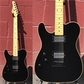 Schecter USA CUSTOM SHOP  PT Black HH Maple neck Left Handed 6-String Electric Guitar