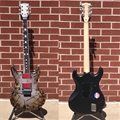 ESP E-II RZK-1 Burnt Left Handed 6-String Electric Guitar 2018