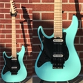 Schecter    DIAMOND SERIES SUN VALLEY SUPER SHREDDER FR Sea Foam Green    Left Handed  6-String Electric Guitar