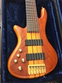 USED Schecter DIAMOND SERIES Stiletto Studio-6 Left Handed 6-String Electric Bass Guitar