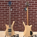 WARWICK German Pro Series Corvette $$  Left Handed 4-String Electric Bass Guitar