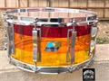 "Ludwig USA Vistalite  LS903 Tequila Sunrise 6 1/2x14"" Snare Drum"