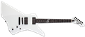 LTD SIGNATURE SERIES James Hetfield SNAKEBYTE Snow White  6-String Electric Guitar