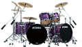Tama Ltd Edition Starclassic Maple Lars Ulrich Deeper Purple MA62BDZS-DPP 6-piece Shell Kit
